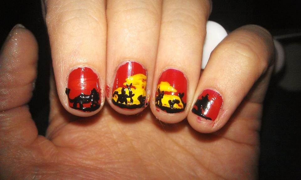 Lion King Nails   blipbarr   Blipfoto