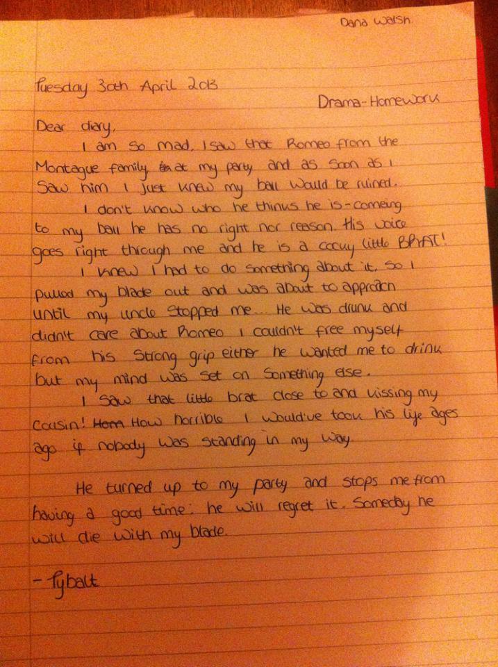 Romeo and juliet homework help