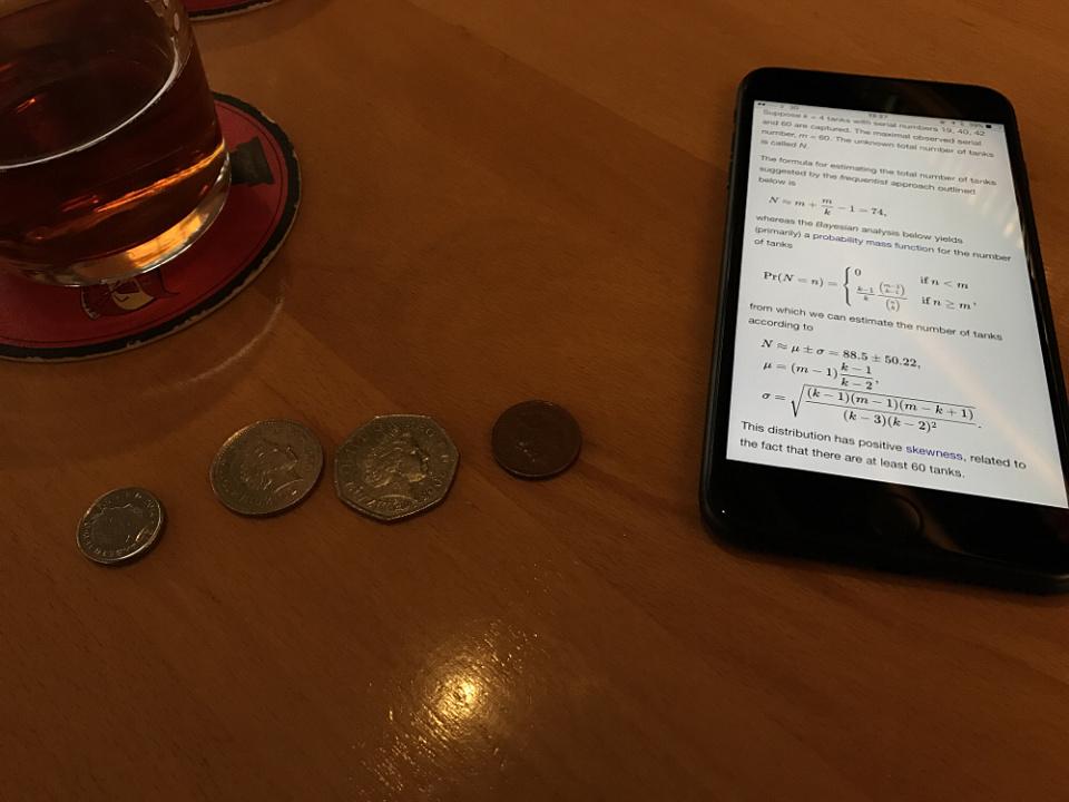 Pub maths
