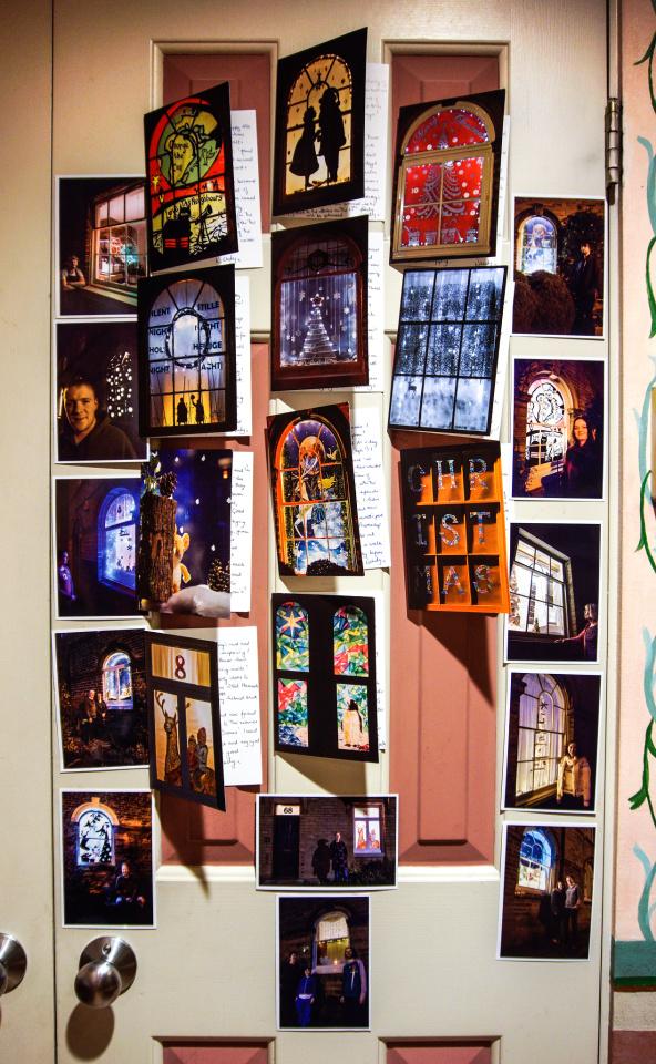 Living Advent Calendar Ideas : The saltaire living advent calendar nannak blipfoto